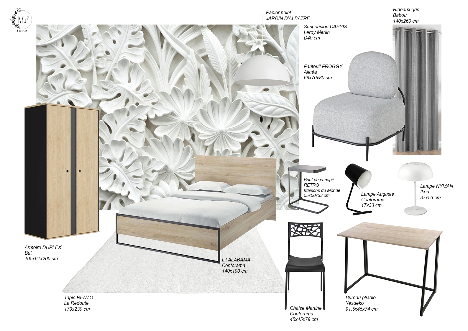 planche-mobilier-chambre-A-