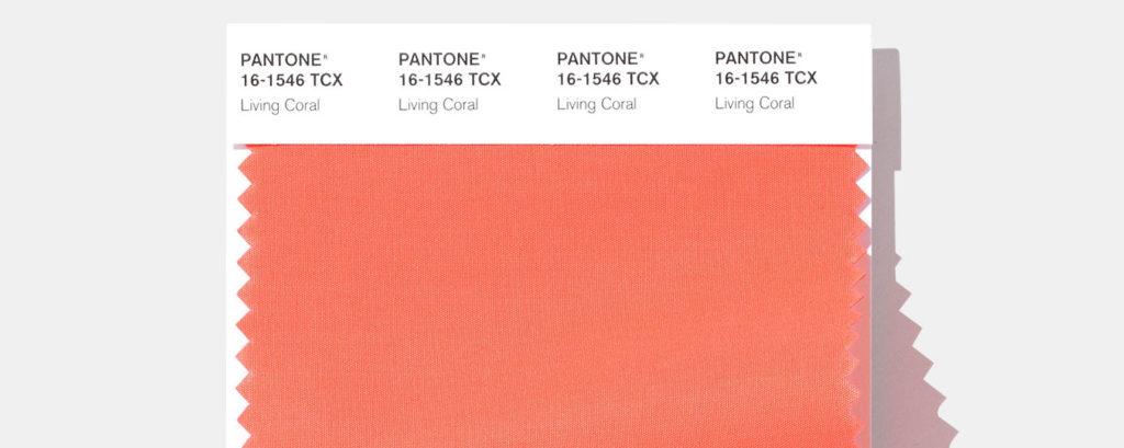 Living Coral – couleur Pantone 2019
