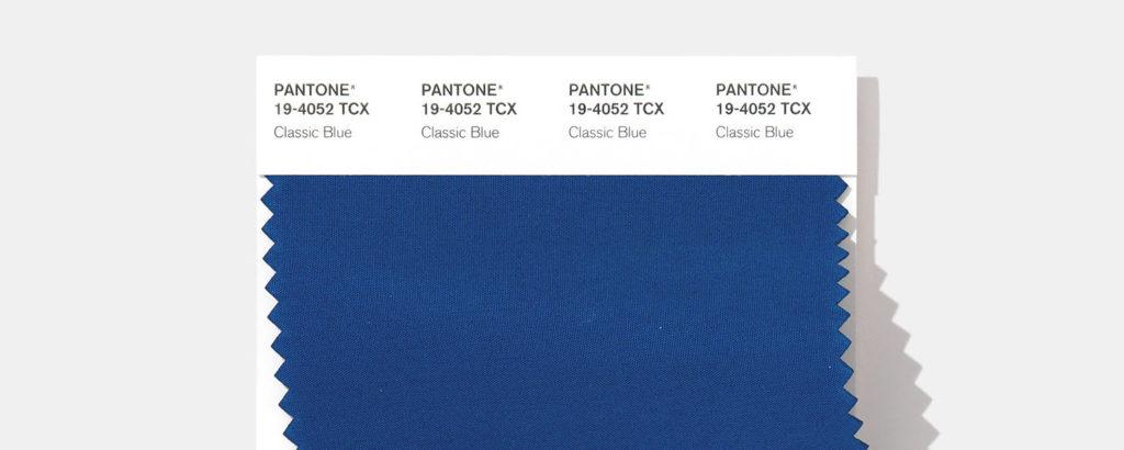 Classic Blue – couleur Pantone 2020